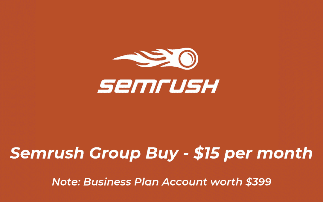 Semrush Group Buy
