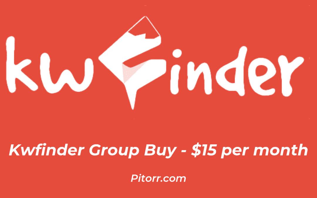 kwfinder group buy